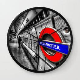 Underground Wait Wall Clock