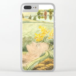 Weep No More Clear iPhone Case