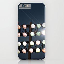 Beneath Friday Night Lights iPhone Case