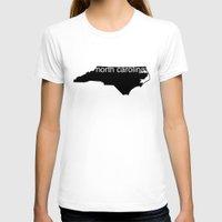 north carolina T-shirts featuring North Carolina by Isabel Moreno-Garcia