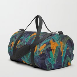 Midnight Jungle Duffle Bag