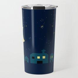 silent, starry night Travel Mug