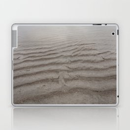 Ripples of Sand at the Shore Laptop & iPad Skin