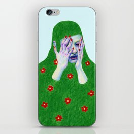 Sad Spring iPhone Skin