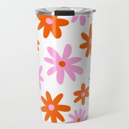 Bright Floral Travel Mug