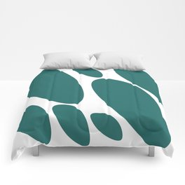 Rocks by the sea Comforters