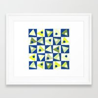 martini Framed Art Prints featuring Martini by Indigo Images