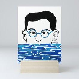 Alfredo's portrait Mini Art Print