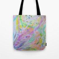 nursery Tote Bags featuring Star Nursery by Duende As Art