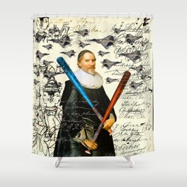 THE F22 RAPTOR HUNTER IN EARLY SPRING III Shower Curtain