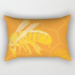Bee You Tiful  Rectangular Pillow