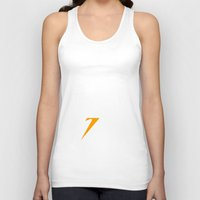 time low Tank Tops featuring Running Low by jekonu