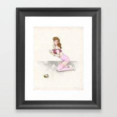 Zelda No. 1 Framed Art Print
