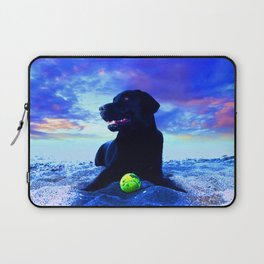 Ziggy Black Labrador Laptop Sleeve