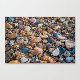 Moana Pebbles Canvas Print