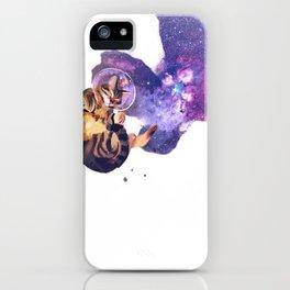 Catstronaut iPhone Case