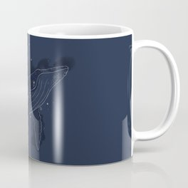 Spacial Whale Coffee Mug