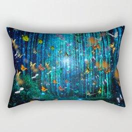 Magical Path Butterflies Rectangular Pillow
