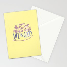 That Awkward Moment Stationery Cards