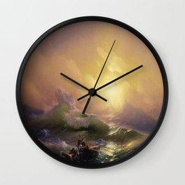 The Ninth Wave - Hovhannes Aivazovsky Wall Clock