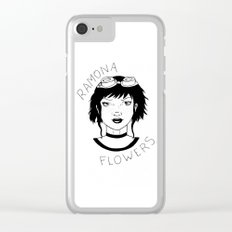 Ramona Flowers. Clear iPhone Case