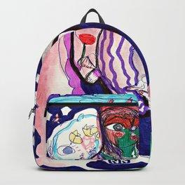 Flowing Figures Backpack