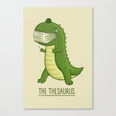 The Thesaurus Canvas Print