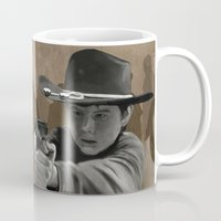 carl sagan Mugs featuring Carl by Richtoon
