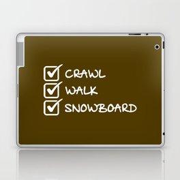 Analyse Marche Snowboard Laptop & iPad Skin
