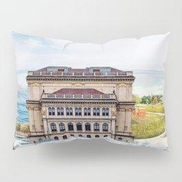 Mix Nature Landscape Pillow Sham