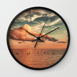Sunday Seance Wall Clock