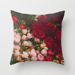 FLORAL SERIES II Throw Pillow