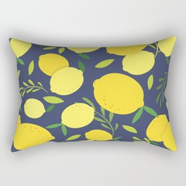 Freshly Picked Lemon Rectangular Pillow
