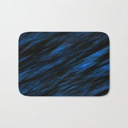 Blue abstract pattern background Bath Mat