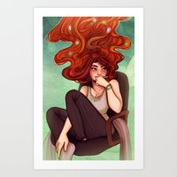 cyarin Art Prints featuring Creativity by Cyarin