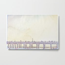 California Dreamin' in NY Metal Print