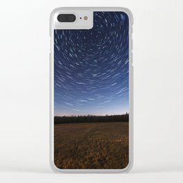 Meadow of the Stars Clear iPhone Case