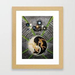 Power's of Yin & Yang Framed Art Print