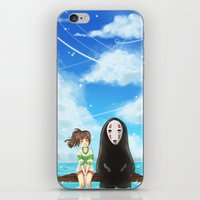 spirited away iPhone & iPod Skins featuring Spirited Away by Stellaris