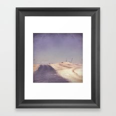 Road to Nowhere Framed Art Print