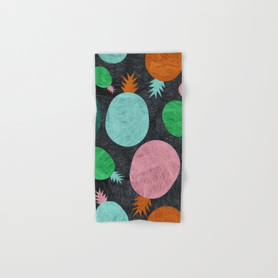 Pineapple Lovers Hand & Bath Towel