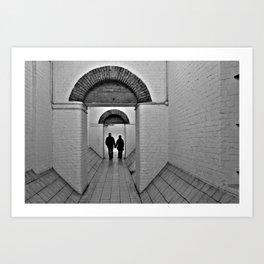 Lovers In Charing Cross Art Print