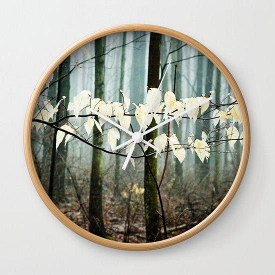 Dreams of the Sun on a Rainy Day Wall Clock