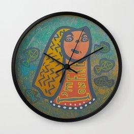 Atlantis Icon / I'm on Fire! Wall Clock
