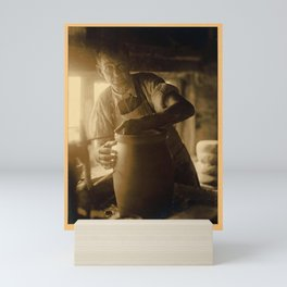 Doris Ulmann  (1882–1934), Bybee Corneilson KY. Man with glasses, apron, and rolled-up sleeves Mini Art Print