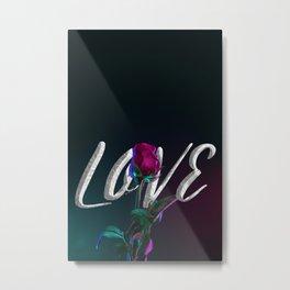 Tonight is Love Metal Print