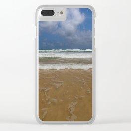 Surf on Karon Beach Clear iPhone Case