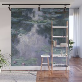 Water Lilies (Nymphéas) Wall Mural