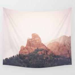 Sunrise in Sedona Wall Tapestry