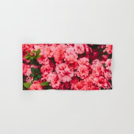 Pink Flowers Hand & Bath Towel